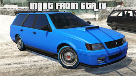 Ingot Vd90r From Gta Iv [replace]