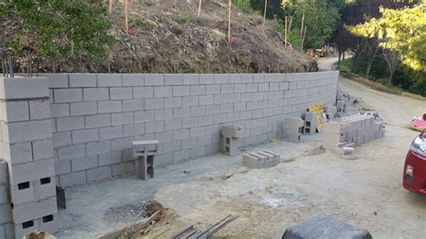 cinder block retaining wall 8 cinder block concrete retaining wall orinda ca all access constructionall access construction