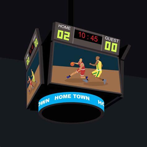 Billboard Clip Art basketball jumbotron illustration   vector 1400 x 1400 · jpeg