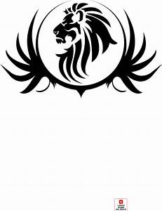 Black Lion Crest Clip Art at Clker.com - vector clip art ...