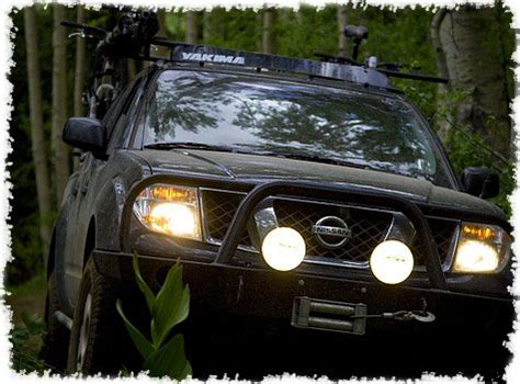 nissan frontier light bar nissan frontier bumper or l bar auxilliary off road