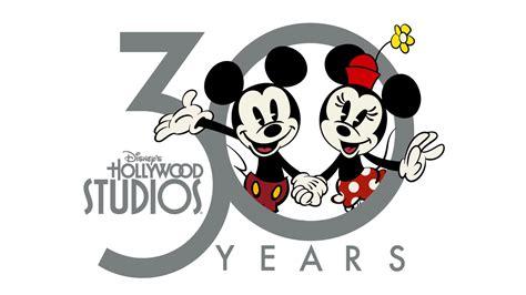 disneys hollywood studios debuts  anniversary logo