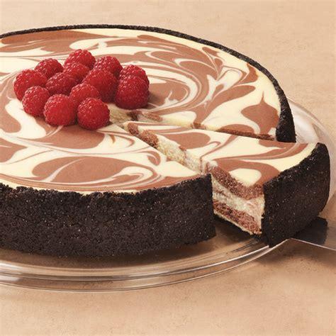 cheesecake chocolate marble cheesecakes recipe diabetic cake cheese factory swirl sobremesas marbled easy cakes cream wilton friendly strawberry incriveis vanilla