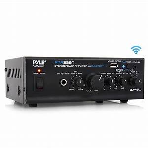 Pylehome - Pta22bt - Home And Office - Amplifiers - Receivers - Sound And Recording