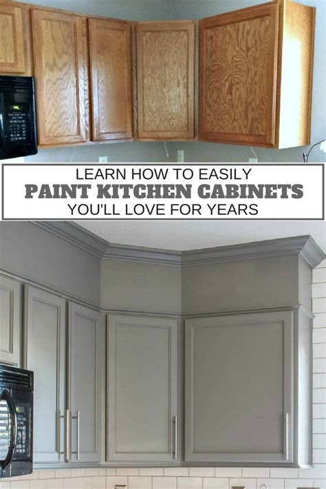easy kitchen cabinets how to easily paint kitchen cabinets you ll for years 7006