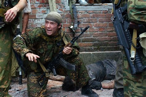 siege scholl special forces members during the 2004 beslan