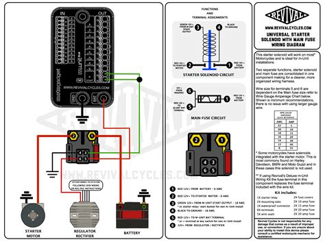 revival universal starter solenoid wiring diagram revival cycles