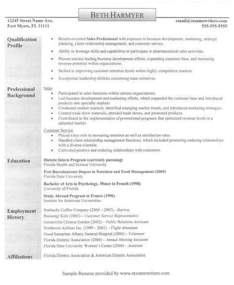 sle resume exles sales executive resume free sle sales resumes