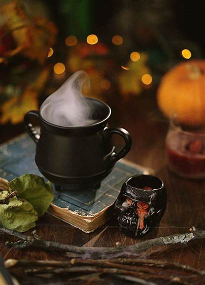 Halloween Autumn Cinemagraph Morning Gifs Cinemagraphs Witch