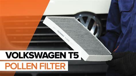 replace pollen filter  volkswagen  tutorial