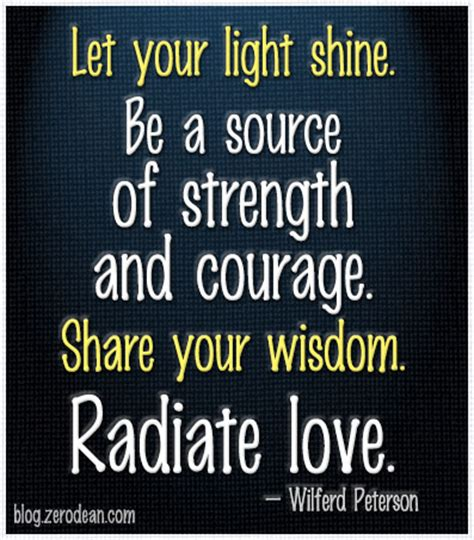Quotes About Shining Your Light