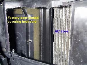 Heater  Blend Door  Hack Fix  - Ford F150 Forum