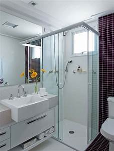 Soluções para banheiros pequenos