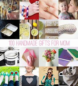 100 Handmade Gifts for Mom HelloNatural co