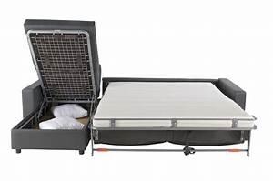 Photos canape lit convertible avec vrai matelas for Canapé lit avec matelas