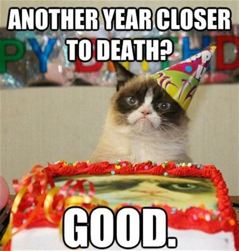 Grumpy Cat Meme Happy Birthday - happy birthday images funny very funny images