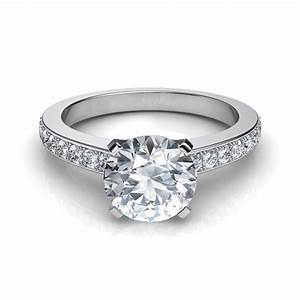 novo round brilliant cut engagement ring With round diamond wedding rings