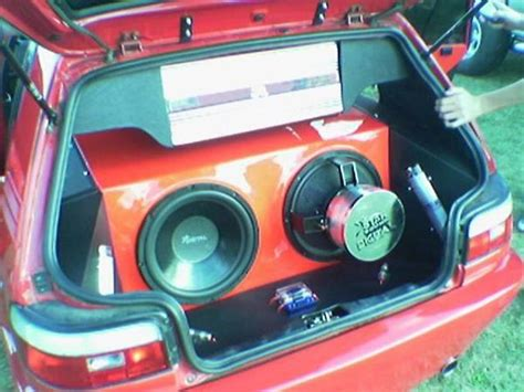 sound install toyota tazz 3 war s sound installs and custom sub boxes chang e