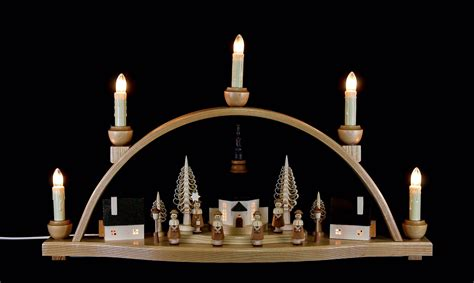 candle arch quot church of seiffen quot 51x30x12cm 20x11 8x4 7in