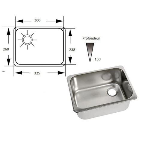 evier cuisine taille meuble de cuisine avec evier inox evier inox 2 bac