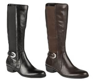 womens calf boots sale naturalizer womens wide calf leather knee high length boots sale ebay
