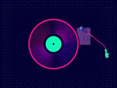 Record Player Animated Gifs Medium Animation Raag