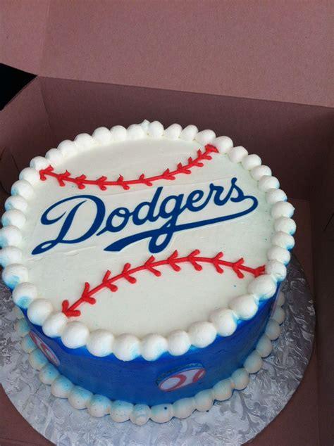 dodger cake cakes weve  sweet treats