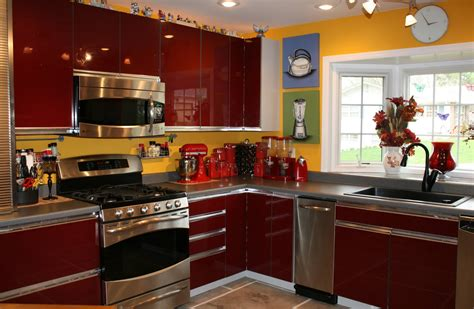 red black kitchen decor interior design inspirations