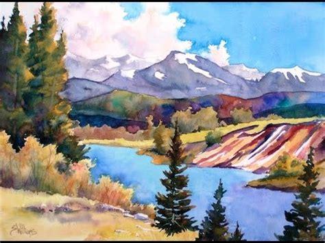 Watercolor Landscapes  Rochester High School Art Mr
