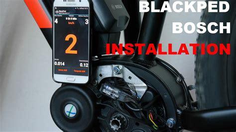 e bike tuning bosch performance blackped e bike tuning bosch installation bei einem bosch cx motor