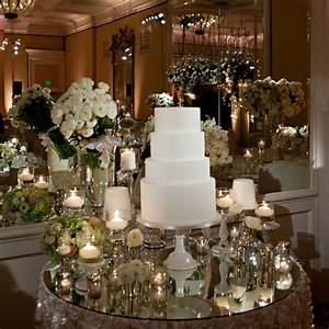 mirror cake table With mirror table decorations weddings