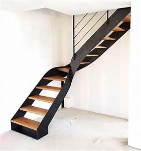 Escalier Metal Et Bois : escalier metal bois verri re garde corps design 3jmp ~ Dailycaller-alerts.com Idées de Décoration