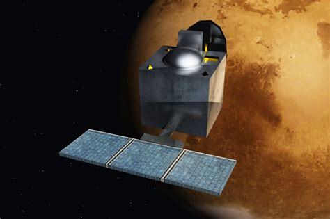 india places probe  mars orbit enters space power super