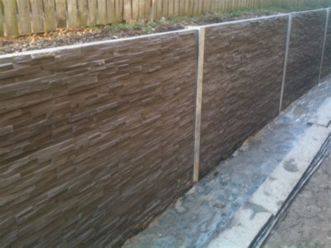 retaining concrete wall concrete sleepers retaining wall google search design pinterest concrete sleeper