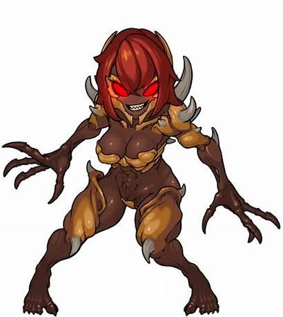 Deviantart Muhut Doom Imp Eternal Female Anime