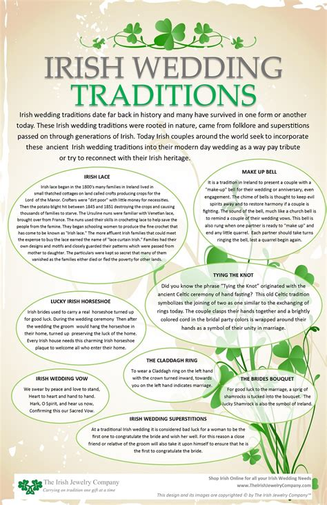 irish wedding traditions celtic wedding traditions