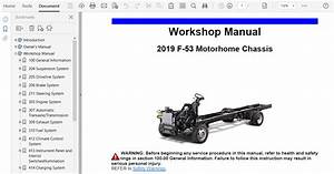 2019 Ford F53 Repair Manual