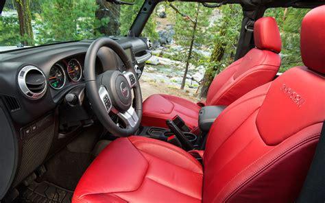 jeep red interior 2013 jeep wrangler rubicon 10th anniversary edition red