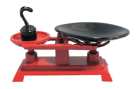 Traditional Kitchen Scales Th Scale For Dolls House D