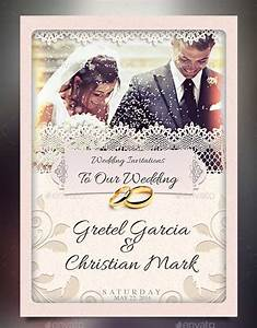 72 best wedding invitation templates psd photoshop indesign With wedding invitation designs in photoshop