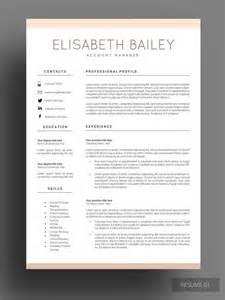 best modern resume templates pinterest the world s catalogue of ideas