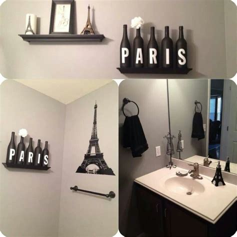 ideas  paris theme bathroom  pinterest