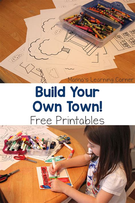 Build Your by Build Your Own Town With Free Printables Mamas