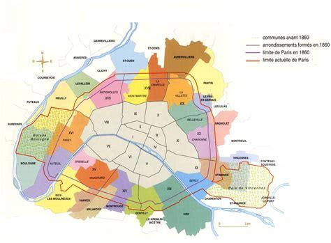 Carte Des Banlieue by Plan Et Banlieue Proche