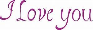 8 I Love You Texts (PNG Transparent) | OnlyGFX.com