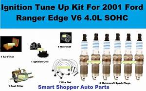 Ignition Tune Up For Ford Ranger Edge V6 4 0l Air Oil Fuel Filter Spark Plug Wir