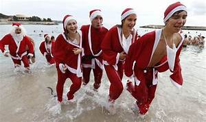 Christmas and New Year's Day outdoor swims for charity ...