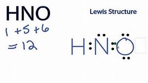 Hno Lewis Structure