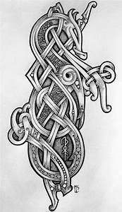 The 25+ best ideas about Viking Dragon Tattoo on Pinterest ...