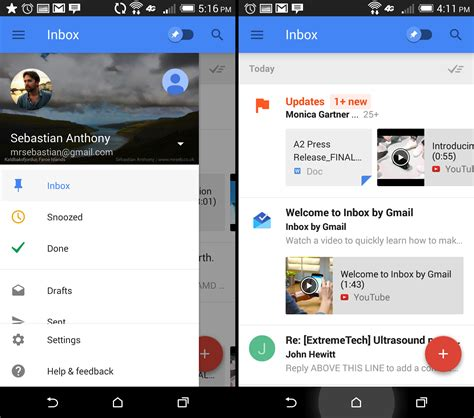gmail app for android gmail inbox on with s attempt to fix